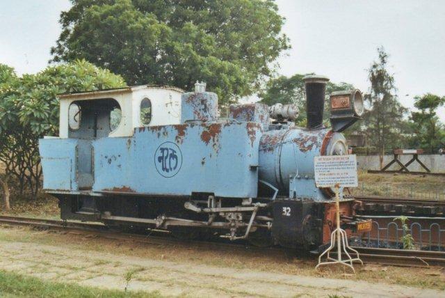 Matheran Light Railway. O&K 1907. Sporvidden er ikke opgivet. Museet er i splid med sig selv om nummeret.