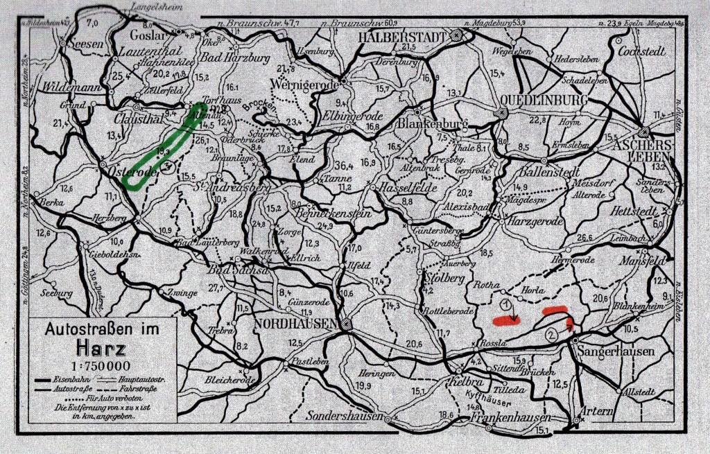 Kort over Karststien