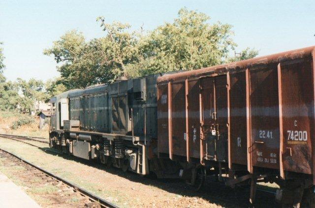 Hitachi fra 1986. Type HFA-22B. Dieselelektrisk, Co'Co', 1492 kW, 105 t, 125 km/t. Typen er også bygget senere, men nu med dele fra Bombardier.