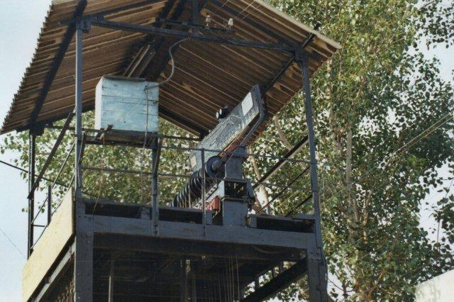 Luftigt signalhus i Udaipur.