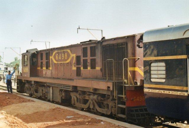 I Chittaurgarh skiftede vi fra 6399 til 6498.