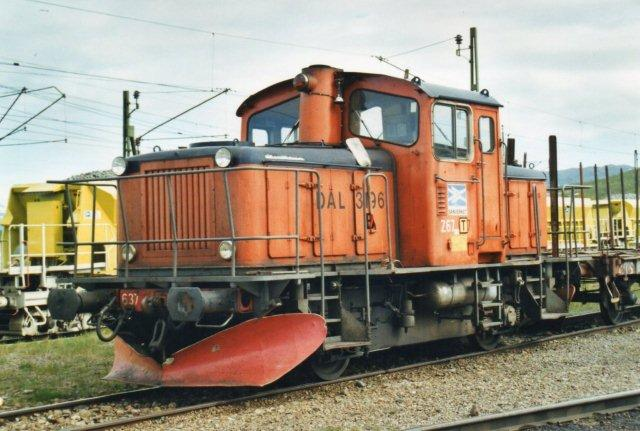 Banverkets ex. SJ Z 67 i Abisko.