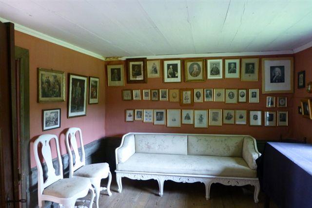 Sådan kunne Linnés stue vel have set ud?
