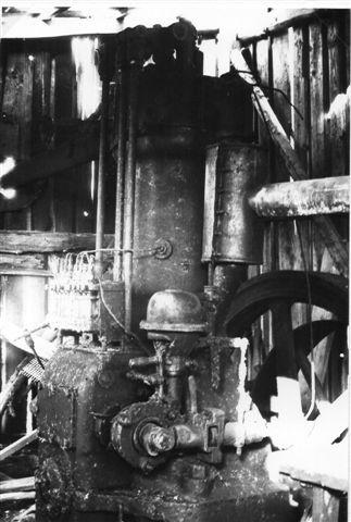 Kramper & Jørgensen 8686/19?? Råoliemotor. Foto: BH 1979.