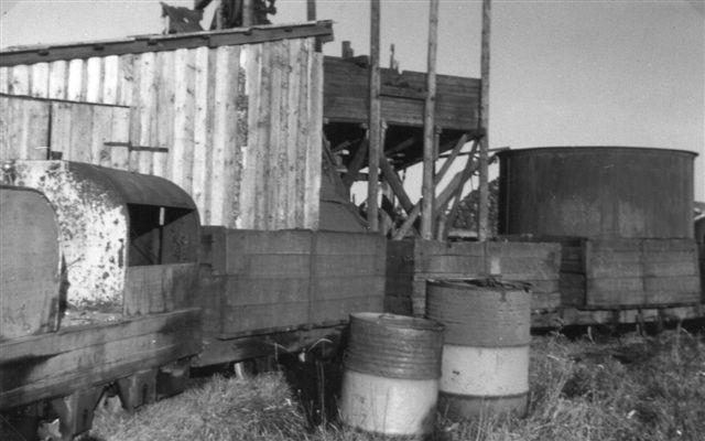 Samme lokomotiv på et E. Boilesen-foto 1965.