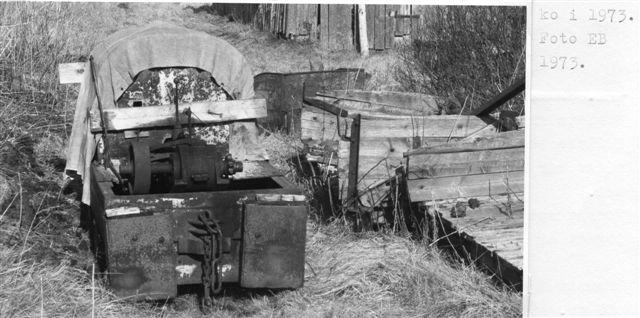 Lokomotivet på er E. Boilesen-foto fra 1975.