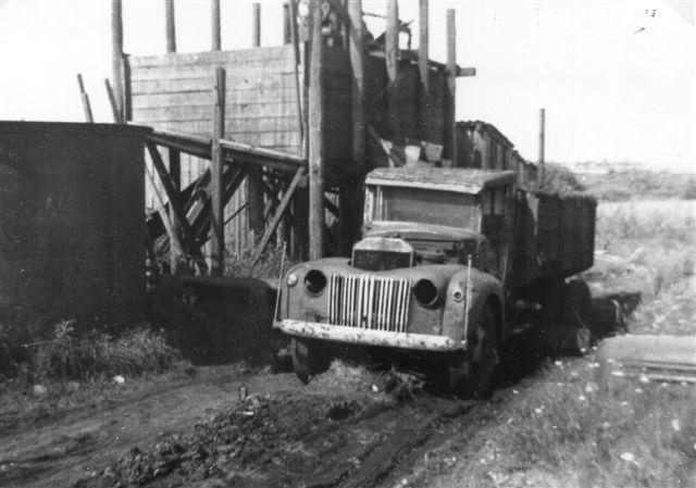 Allerede i 50'erne eller 60'erne var dyndbanen opgivet. En lækkerbidsken for en færdselsbetjent. Arkiv: BH.