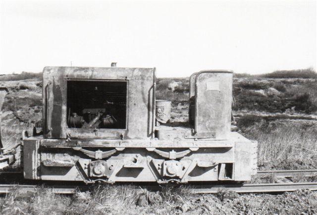 Pedershåb 433/1948 på vej mellem grav og værk 1968. Foto af hjemmesideindehaveren.