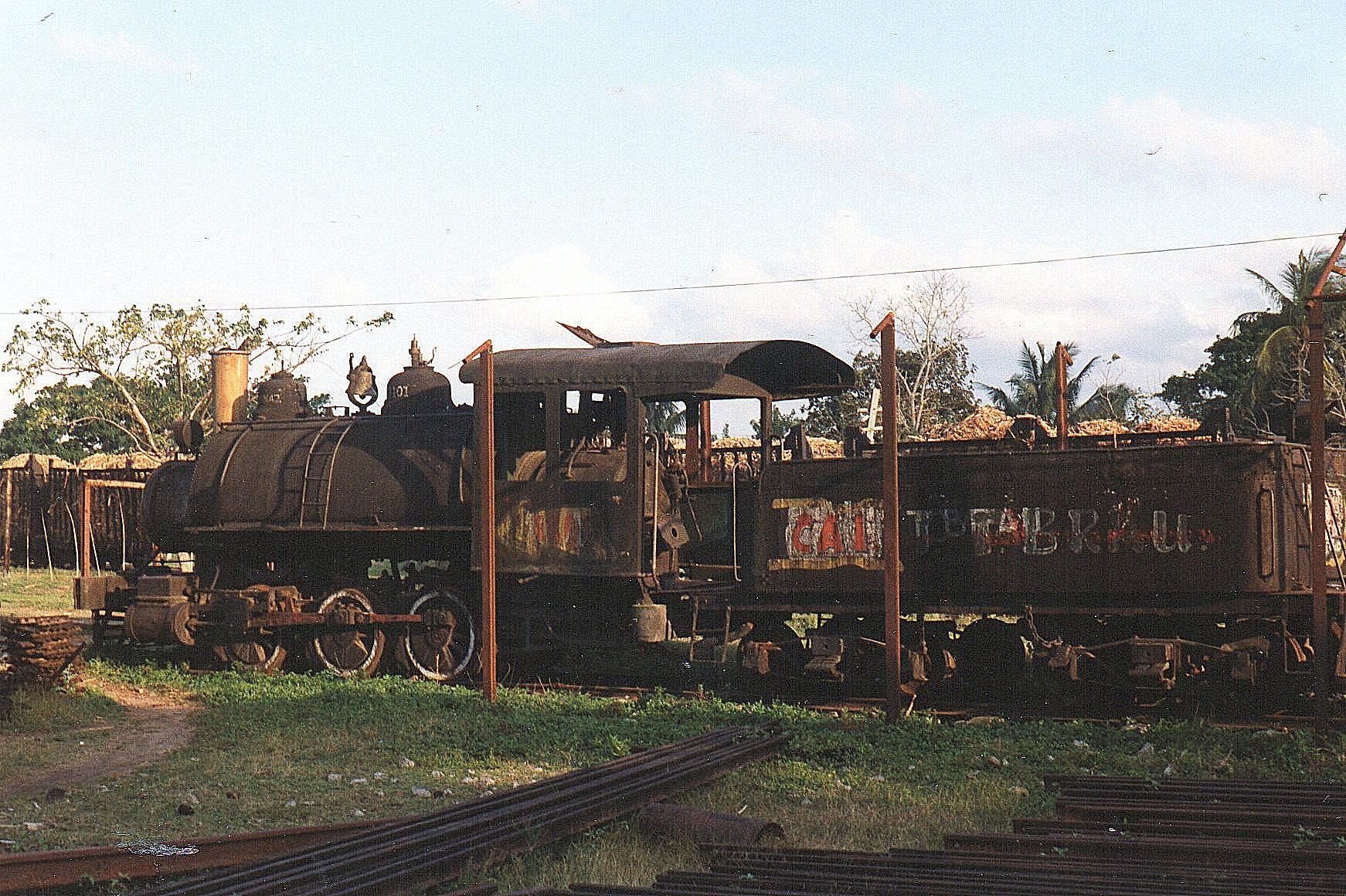 CAI 108 Orlando Noradse, 1101, Vulcan 1117/1907. Et lokomotiv med tender og saddeltank. Det var da også hensat for museumsformål.