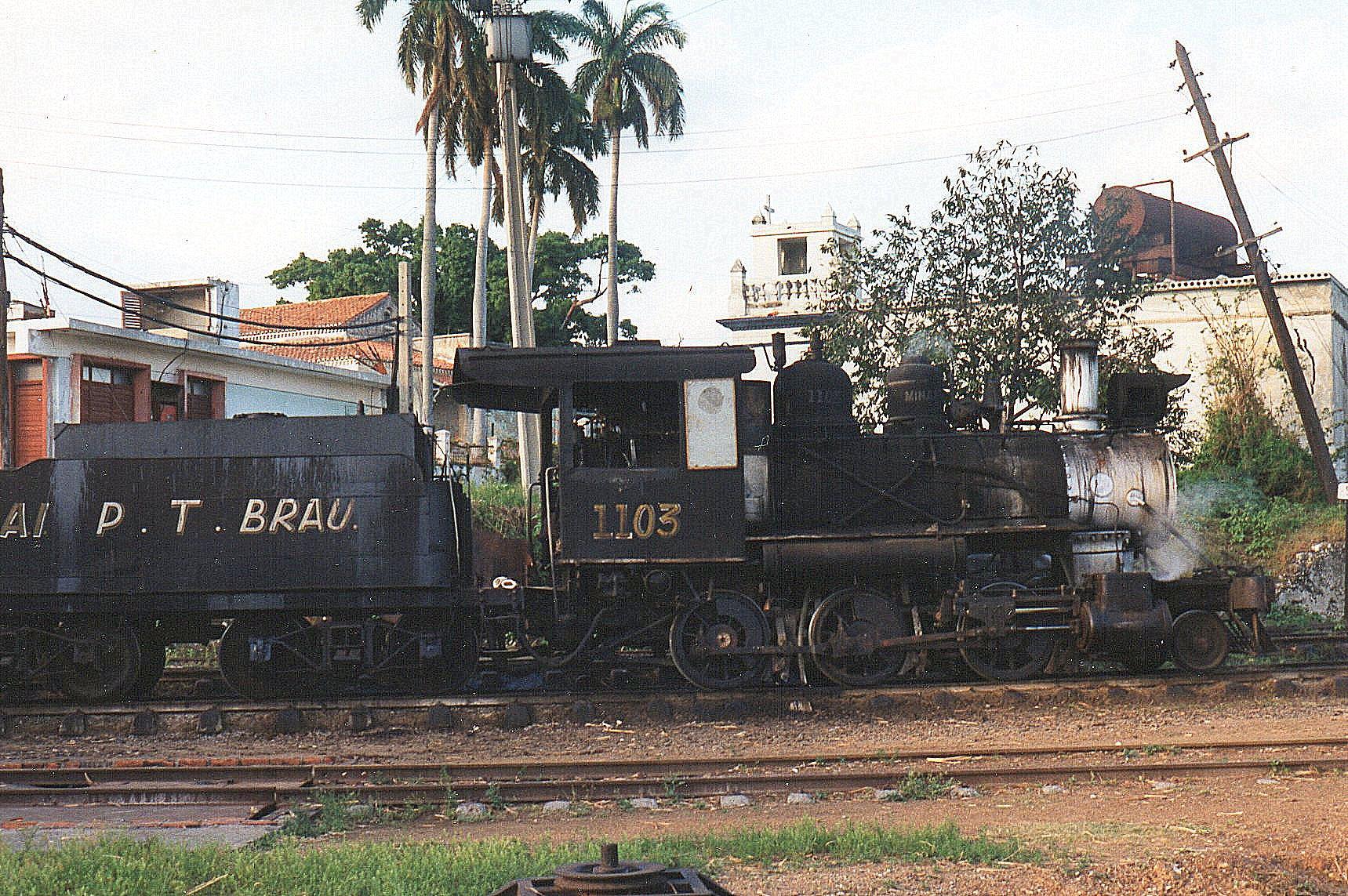 CAI 109 Orlando Noradse, 1103, Baldwin 54052/1920. Dens tender er mærket med navnet på en anden mølle.