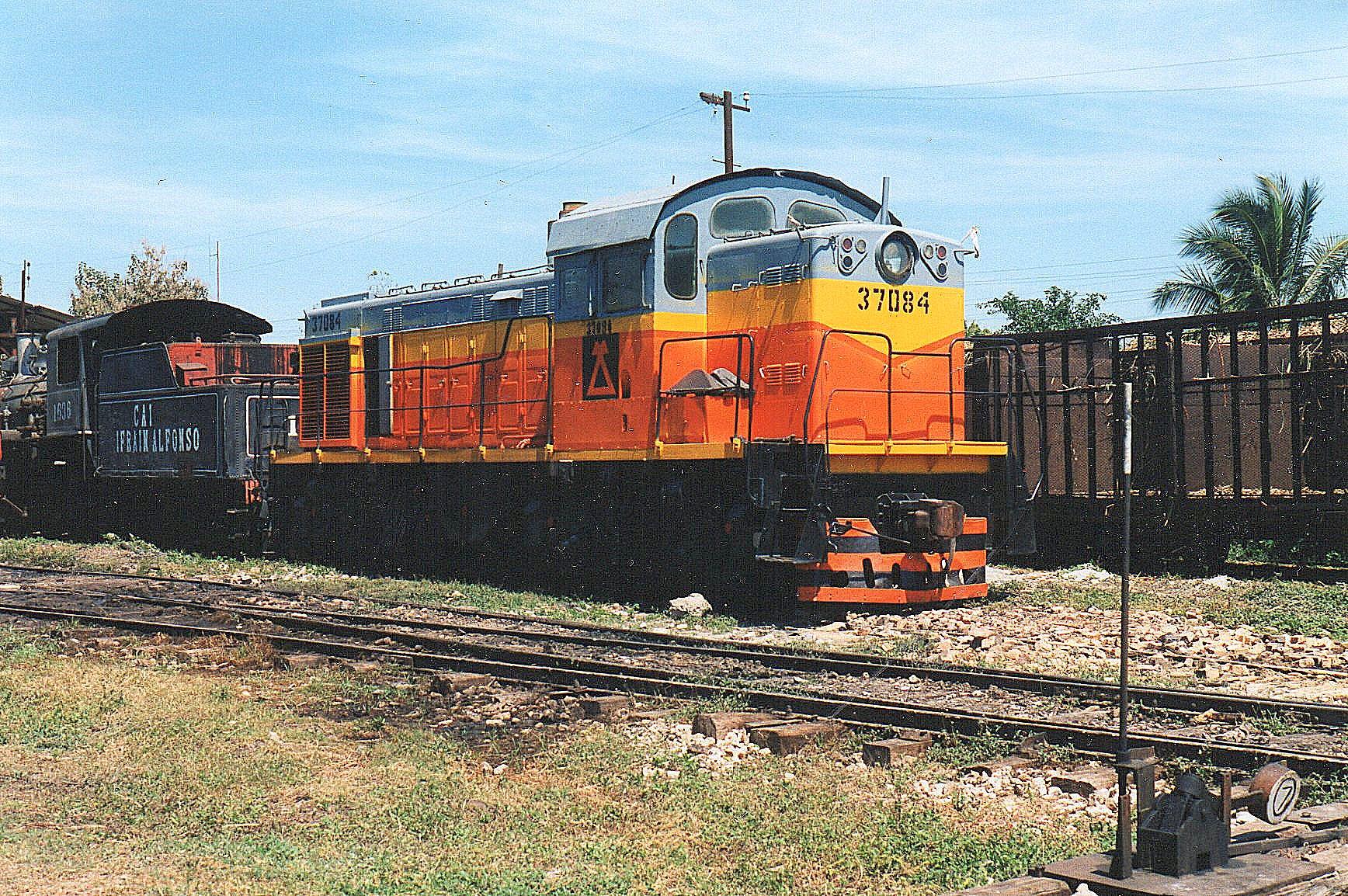 MINAZ 37084 på CAI 440 Ifrain Alfonso. Type TGM-4. USSR 1978. 68 t. 750 hk.