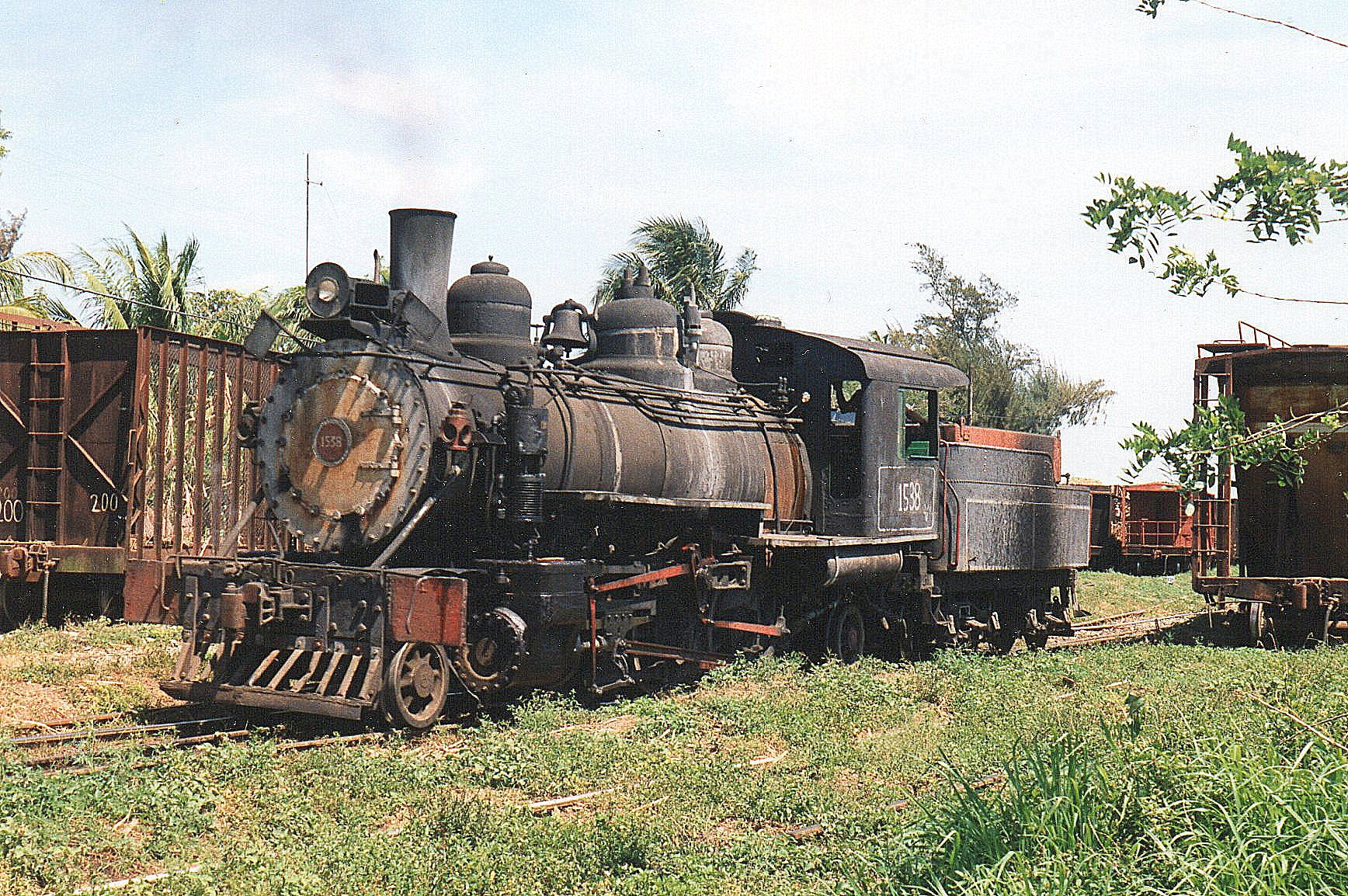 CAI 404, Ciudad Caracas, 1538 Baldwin 54230/1920. 1'C1. Maskinen var i drift.
