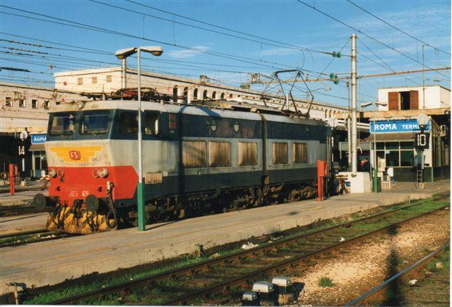 FS E 656 479 I Roma Termini 1998.