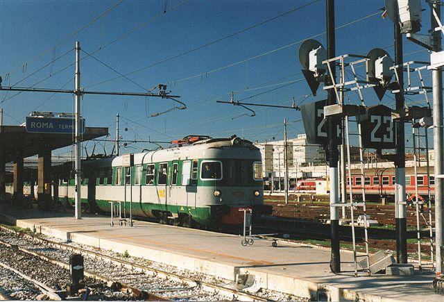 FS Ale 601 023 på Roma Termini 1998,