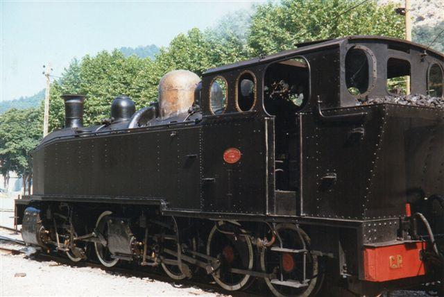 Den portugisiske mallet-maskine i la Mure 1992 fotograferet af Gurli Hansen.