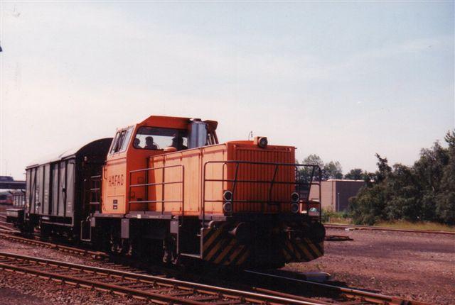 HAFAG 7, MaK 700 026/1978 i Ruhrort 1991.