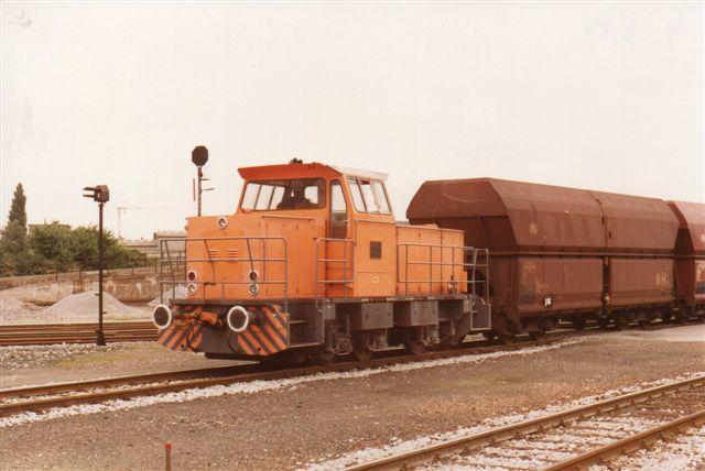 Hafenbahn Neuss II, MaK. Selv om jeg selv har taget billedet, er der ingen data. Foto: BH 1984.