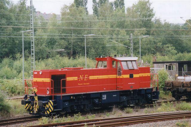 NE VII, VSFT 1000 078/1999, type G 1206 i Rhydt ved Mönchen-Gladbach fotograferet af Günther Barths 2002. VSFT er Vossloh, der er MaKs arvtager.