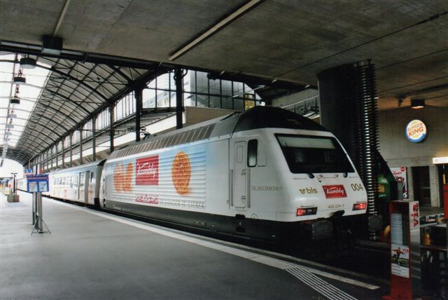 BLS 2 439. BLS 460 004-0 I Luzern 2012. Reklamefolieret.