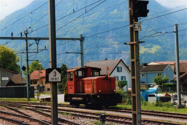 SBB 15 428. SBB Tm IV 8794 i Flüelen 2012. Den er bygget af SLM som 5073 i 1976. Mellem 1970 og 78 byggedes 89 eksemplarer.