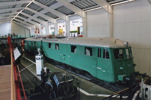 SBB 17 521. SBB Ae 8/14 11852 ligeledes på Trafikmuseet 2012. Det er fra 1939 og præsterede 8800 kW. Kun tre eksemplarer blev bygget, og de var alle forskellige.