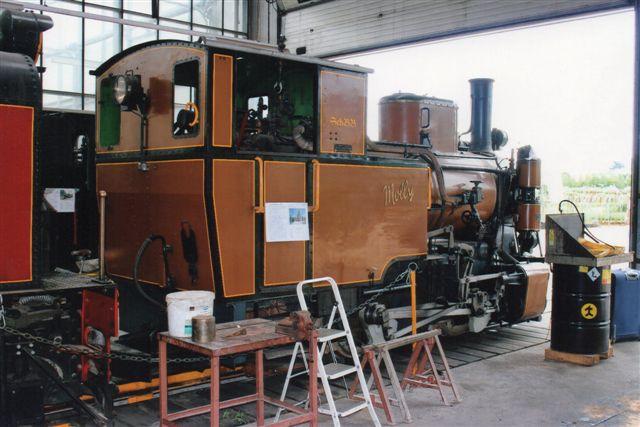 Schinznach Baumschulbahn Molly, SLM 3834/1944. 2012.