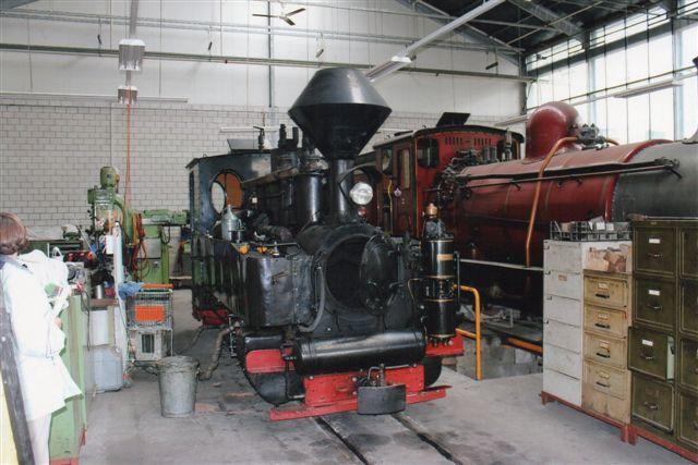 Schinznach Baumschulbahn Taxus, Krauss7349/1917.