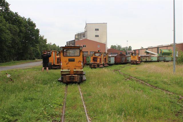 4369. Torfwerk Uchte. Fra venstre 3 + 8, 6 + 5, 10 + 4 og 2 alene længst til højre.