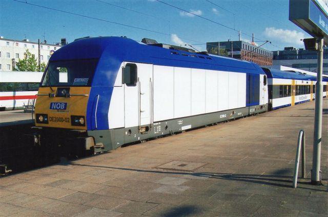 NOB DE2000-01 kørte Hamburg-Hbf. Westerland 2007.