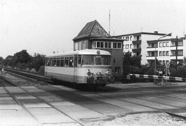 AKN 2.18, MaN 14090/1956 ved Neumünster Süd i 1983.