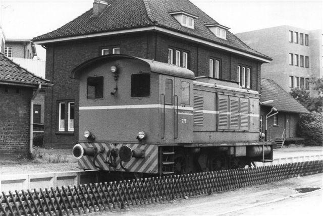 BHE 276, Schwarzkopf 11449/1941 360 hk. Den var oprindeligt et Værnemagts V36. Den holdt i Buxtehude i 1984.