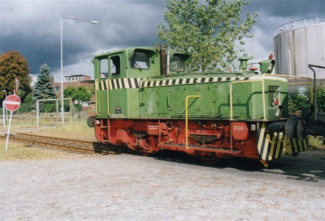 I 2002 så jeg Krupp 3854/1958. 220 hk. Ny til Phönix Rheinrohr, Duisburg. Senere til Mannemann og Flam Stahlhandel samt Railtec.
