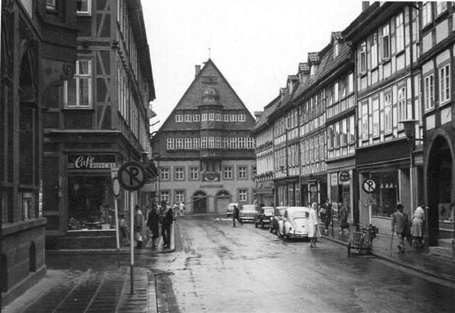 Osterode. Rådhuset i 1963.