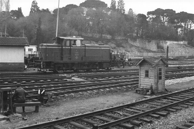 En tidligere tysk V 60. TCDD købte i 1961 et antal 650 hk lokomotiver af denne type fra Krupp og Esslingen.