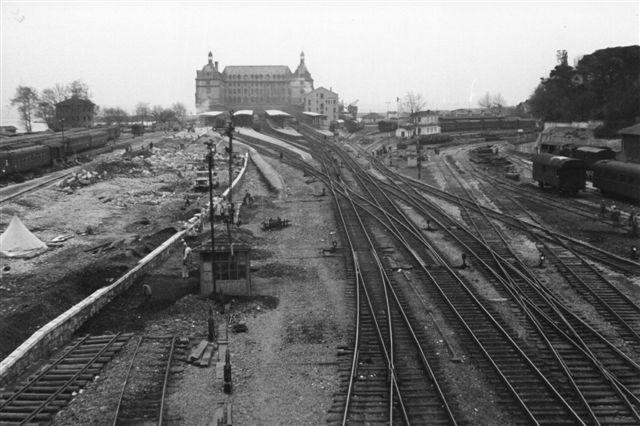 Haidar Pasha station var tilsyyneladelse i 1968 under ombygning?