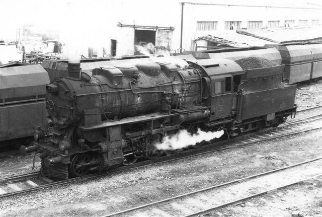 TCDD 45009 i Eregli 1981. Foto: Günther Barths.