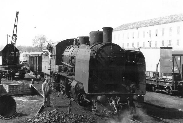 TCDD 45 507 i Alpulln 1981 fotograferet af Günther barths.