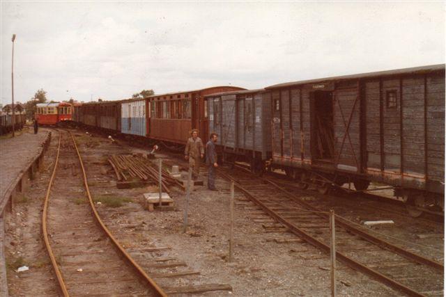 RTM-folkene havde en anseelig vognsamling at restaurere.