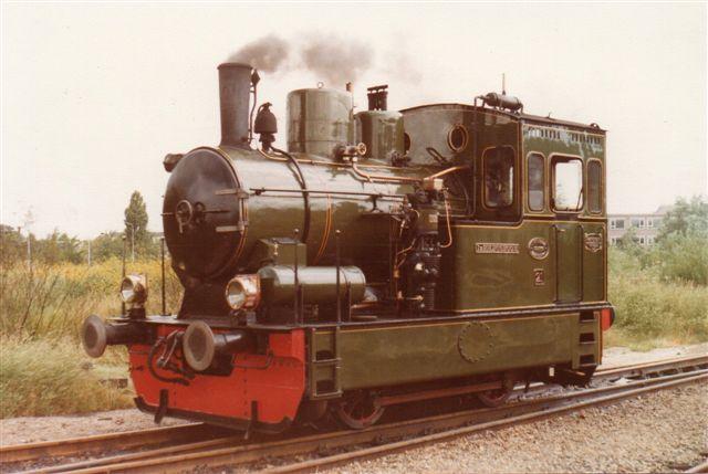 Retur kørte SHM 21, Ir. P. H. Bosboom,Hanomag 9857/1922 os. Også denne maskine er et sporvejslokomotiv med en fortid på Limburgsche Tramweg. Inden det kom til SHM var det dog på en fabrik som rangerlokomotiv der.