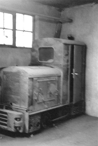 Værkets reserve, Spoorijser 12524/1956. En licensbygget Deutz OMZ 117 F.