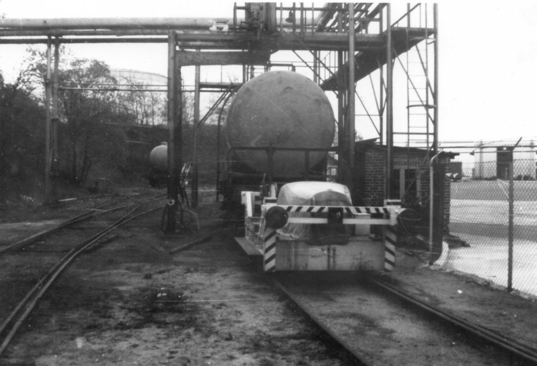 BP Pedershåb 152/1935. 3,5 t. Solgt til ophug hos en traktor ophugger i Middelfart omkring 1975. Foto: Bent Hansen 1967.