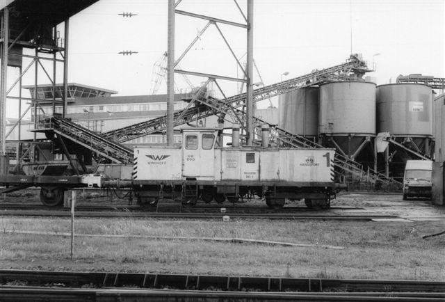 Hansaport 1, Windhoff 130484/2/1976 RW170D 1986.