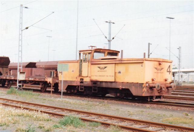 Hansaport 4, Windhoff uden data. Også her mellemvogn. 1993.