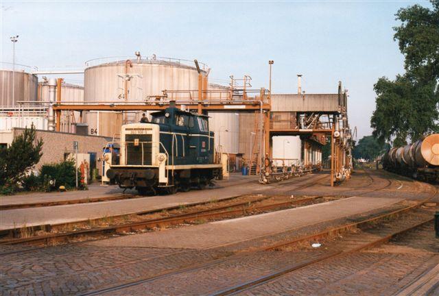 Dupeg var også et af de selskaber, der havde DB til at rangere for sig. Her DB 360 908-8 i 1996.