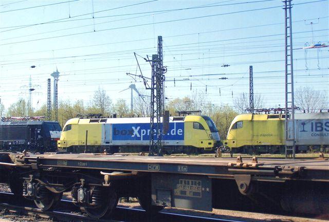 Fotogent stod også et Siemens Dispo fra Box-Xperiss. Foran MRCE'en.