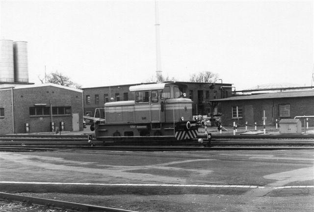 Öelmühle Hamburg AG, Henschel uden nummer og data. Lokomotivet var i 1988 udstillet på IVA i Hamburg, men af Newag som reklame for deres radiostyring. Her ses det dog på firaet tidligere samme år!