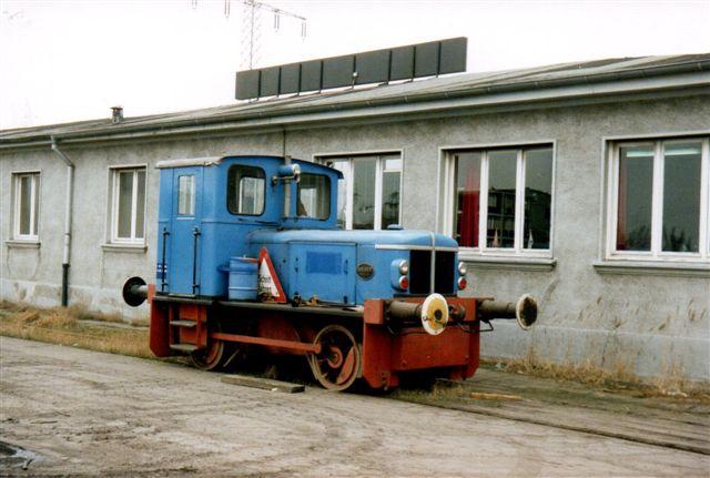 Lokomotivet fra Ellerholzweg. Deutz 57438/1962. 1988.