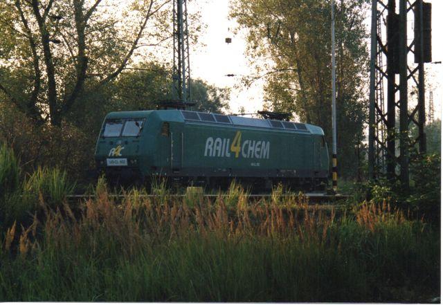 2003 holdt Rail4Chem i modlys. Firmanavnet betyder noget i retning af kemitransporter på bane.