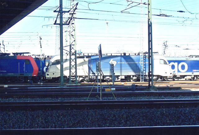 Disporlok Wiener Lokalbahn Cargo GmbH ES 64 U2 021.