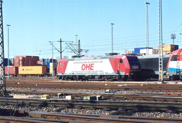 OHE, Osthannoversche Eisenbahnen AG 185 534-5.